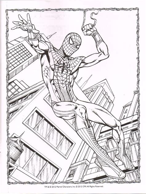 amazing spider man 3 coloring pages coloring page