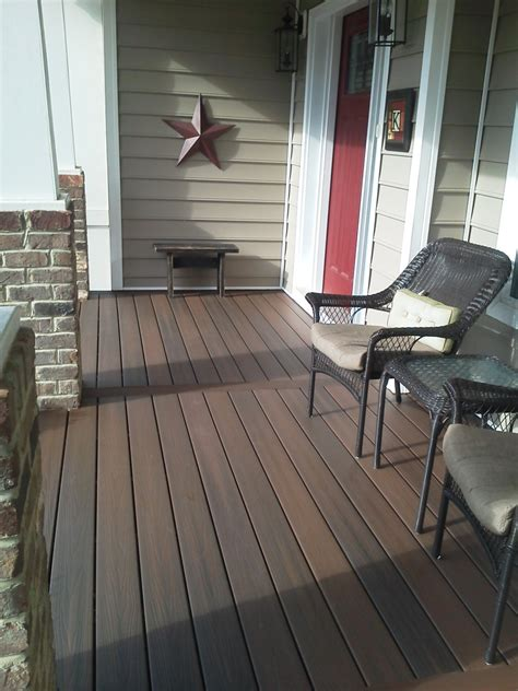 Best Wood For Porch Floor by Decking Materials Composite Porch Decking Material