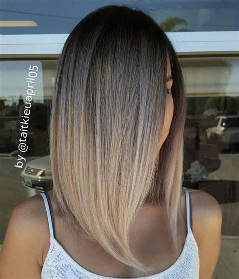 ombre colored hair cut in a line bob 70 best a line bob haircuts screaming with class and style