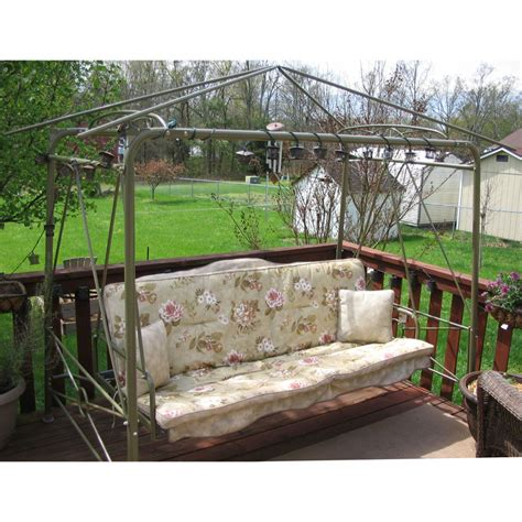 Backyard Creations Warranty Courtyard Creations Rus472w 2007 Garden Swing Garden Winds