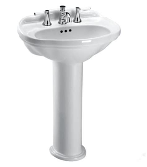 25 Inch Pedestal Sink Toto Lpt754 4 25 X 19 Inch Pedestal Lavatory With