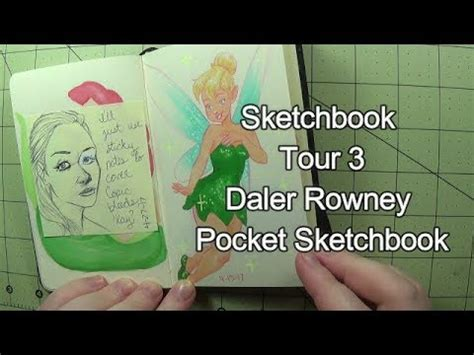 sketchbook tour sketchbook tour 3 daler rowney pocket sketchbook