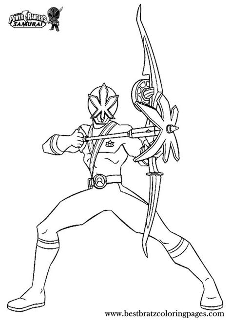 coloring pages of power rangers samurai printable power rangers samurai coloring pages for kids
