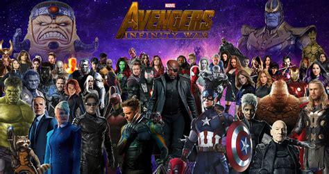 avengers infinity war mcu by natan ferri on deviantart