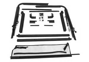 Jeep Top Hardware Rugged Ridge Jeep Wrangler Replacement Soft Top Hardware