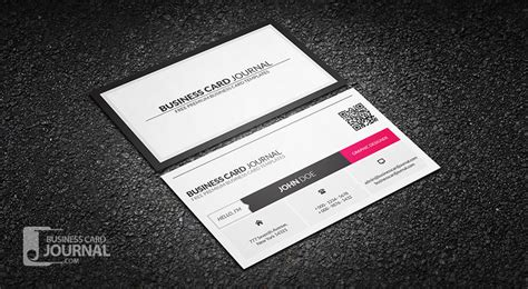 qr code business card template 75 free business card templates that are stunning beautiful