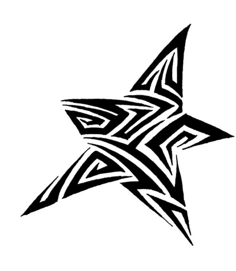 tribal star tattoos tribal www pixshark images galleries with a bite