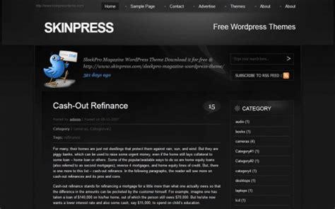themes wordpress black 47 of the best dark and black free wordpress themes