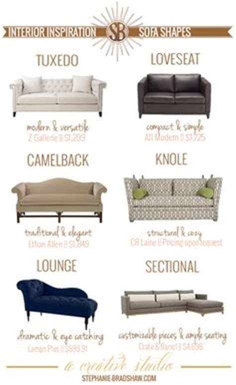 types of sofa with name pics for gt sofa styles guide