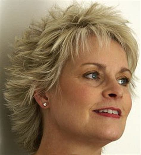 spiked hairstyles for older women short spikey hairstyles for older women