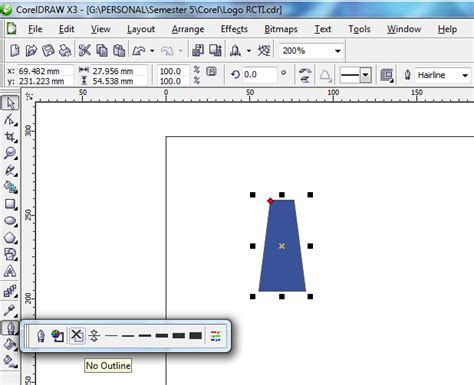 cara membuat outline kti tutorial cara membuat logo rcti zikrisusilawati