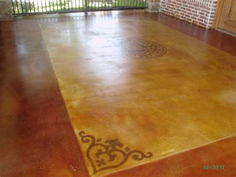 painting concrete patio floor discover and save creative ideas