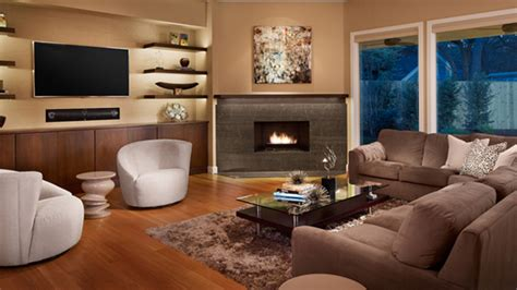 Interesting Bookshelves by 20 Beautiful Living Room Layout With Two Focal Points Home Design Lover