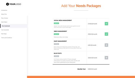 Free Virtual Assistant Proposal Template Better Proposals Assistant Brochure Templates