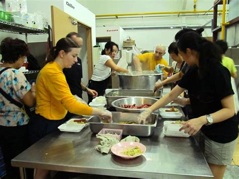 island soup kitchen volunteer dvids news uss makin island and 11th meu crew members