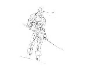 deathstroke coloring pages dc universe deathstroke yumiko fujiwara