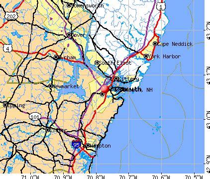 portsmouth usa map city data