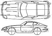 Blueprint Photo Paper 260 blueprints gt cars gt datsun gt datsun fairlady 260z 1974