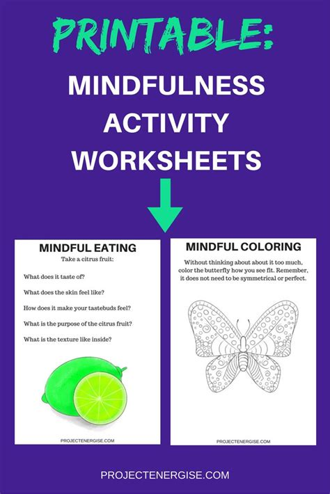 printable mindfulness poster 158 best cbt therapy images on pinterest therapy ideas