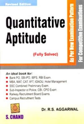 Mba Entrance Book By Rs Aggarwal by Which Are The Books Or Tcs Written Test