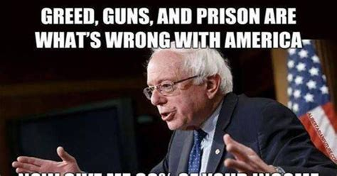 Anti Bernie Sanders Memes - meme the despicable hypocrisy of bernie sanders is sick