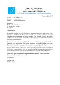 surat perkenalan perusahaan terbaru