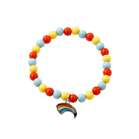 rainbow bead bracelet rainbow bead bracelet the guide shop
