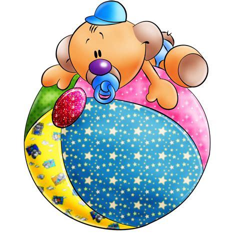 imagenes infantiles en png animales infantiles osito y pelota