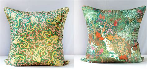 Pillow Scarf by Pillow Cover Liberty Of Vintage Scarf Silk Jungle