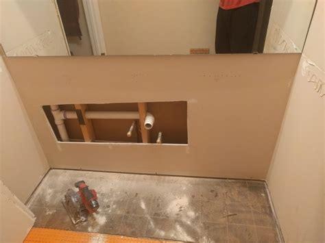 single sink to sink plumbing single sink vanity conversion to sink terry