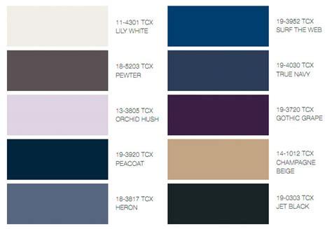 what color is peacoat autumn winter 2011 textile colour trends