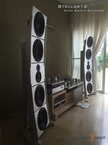 pureaudioproject open baffle speakers drivers and more
