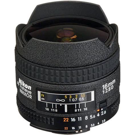 Af 16mm F2 8 D Fisheye Nikkor Lens nikon af fisheye nikkor 16mm f 2 8d lens 1910 b h photo