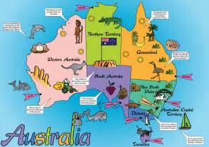 australian us map australian funnies by state tales