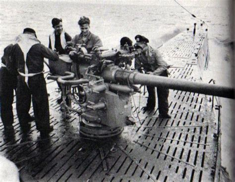 u boat deck gun deck design and ideas - U Boat Guns