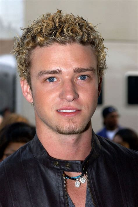 frosted hair black boys justin timberlake doesn t age his evolution proves it