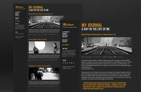 photography portfolio template psd file free download