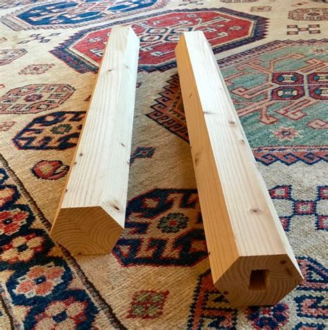make all from wood easy hexagonal wood post from a 2 by 4