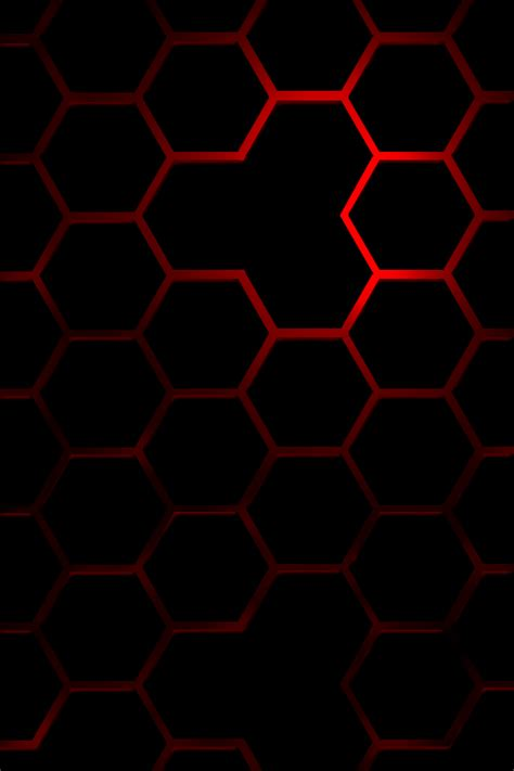 black hexagon pattern hexagon black red by slow240 on deviantart