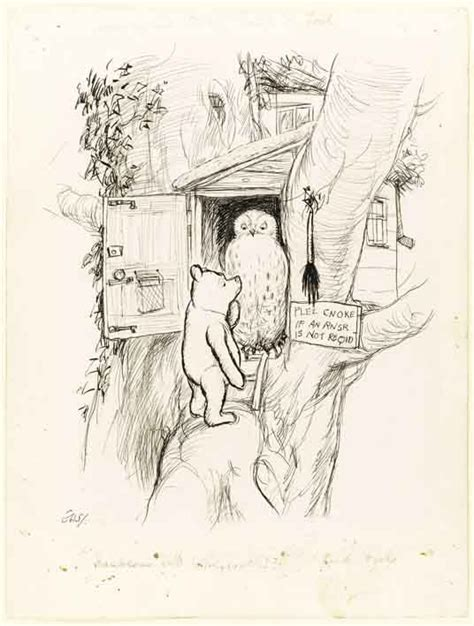 E H Shepard Sketches by E H Shepard Drawings The Michael Winner Sale At Sotheby