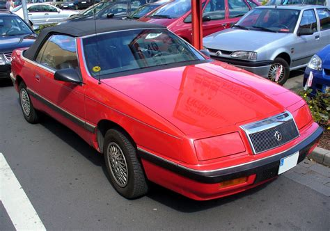 chrysler lebaron chrysler lebaron information and photos momentcar