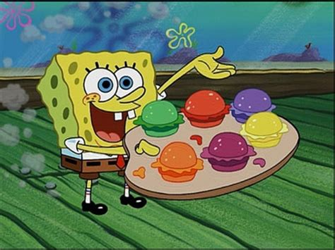 spongebob colored patties pretty patties encyclopedia spongebobia fandom powered