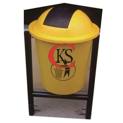 Tempat Sah Bulat Fiber 80 Liter tong sah fiberglass trashbin fiberglass tong sah sulo cv cipta kreasindo stainless