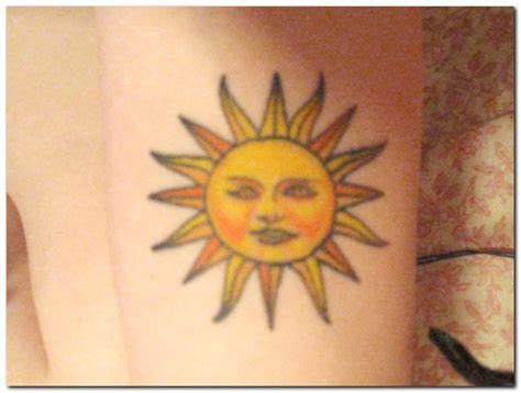 sun tattoo design for ladies 2011 yusrablog com