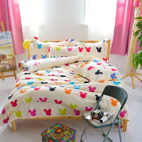 mickey mouse full size bedding set mickey mouse queen sheet set promotion shop for