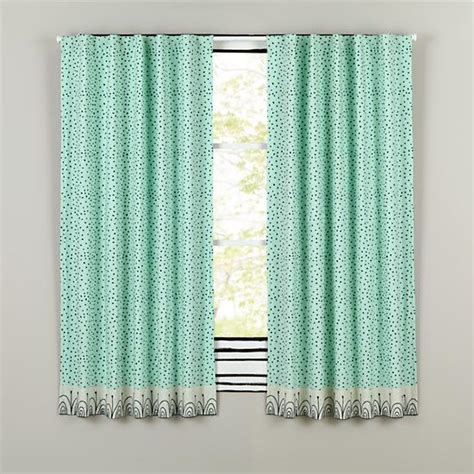 sleep curtains sleep tight aqua and grey polka dot curtain panels the
