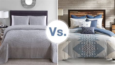 duvet vs comforter do you need a bedspread or a comforter overstock com