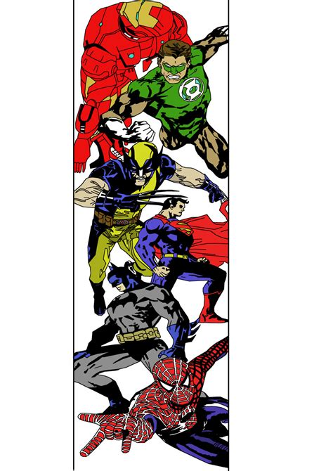 marvel sleeve tattoo designs marvel and dc sleeve design by seanzeroarts on