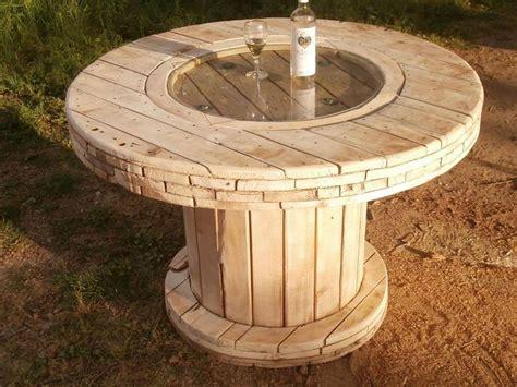Tisch Aus Kabelrolle by Diy Kabelrolle Tisch Ihr Eigener Designer Tisch Freshouse