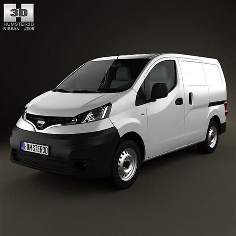 Nissan Nv200 2010 3d Model Cgtrader Nissan Nv200 Template